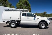2015 Ford Ranger PX MkII XL Double Cab 4x2 Hi-Rider White 6 Speed Sports Automatic Cab Chassis Maddington Gosnells Area Preview
