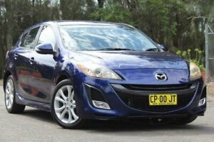 2009 Mazda 3 BL10L1 SP25 Activematic Blue 5 Speed Sports Automatic Hatchback Lansvale Liverpool Area Preview