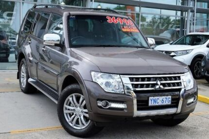 2016 Mitsubishi Pajero NX MY16 GLS Bronze 5 Speed Sports Automatic Wagon Belconnen Belconnen Area Preview