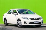 2011 Toyota Corolla ZRE152R MY11 Ascent White 4 Speed Automatic Sedan Ringwood East Maroondah Area Preview