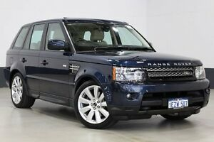 2012 Land Rover Range Rover MY12 Sport 3.0 SDV6 Luxury Blue 6 Speed Automatic Wagon Bentley Canning Area Preview