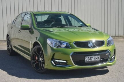 2016 Holden Commodore VF II MY16 SS V Redline Green 6 Speed Sports Automatic Sedan Valley View Salisbury Area Preview