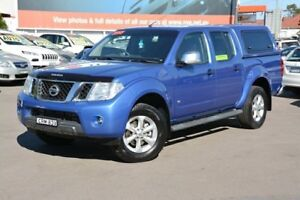 2013 Nissan Navara D40 S5 MY12 ST-X Blue 7 Speed Sports Automatic Utility New Lambton Newcastle Area Preview