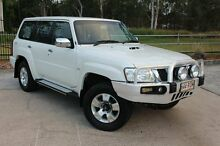 2011 Nissan Patrol GU 7 MY10 ST White 4 Speed Automatic Wagon Tingalpa Brisbane South East Preview