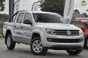 2016 Volkswagen Amarok 2H MY16 TDI400 4MOT Core Plus Natural Grey 6 Speed Manual Utility Liverpool Liverpool Area Preview