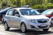 2008 Holden Barina TK MY08 Silver 4 Speed Automatic Hatchback Ringwood East Maroondah Area Preview