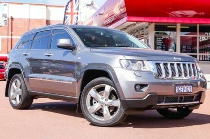 2012 Jeep Grand Cherokee WK MY2013 Overland Grey 6 Speed Sports Automatic Wagon Fremantle Fremantle Area Preview