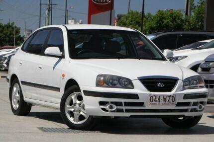 2004 Hyundai Elantra XD MY04 Elite White 4 Speed Automatic Sedan