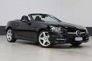 2014 Mercedes-Benz SLK R172 MY14 250 Black 7 Speed Automatic G-Tronic Convertible Bentley Canning Area Preview