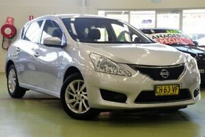 2014 Nissan Pulsar C12 ST Silver Continuous Variable Hatchback Lisarow Gosford Area Preview