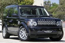 2012 Land Rover Discovery 4 MY12 2.7 TDV6 Black 6 Speed Automatic Wagon Burwood Burwood Area Preview