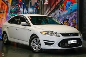 2012 Ford Mondeo MC LX White 6 Speed Sports Automatic Hatchback Northbridge Perth City Area Preview