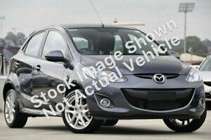 2011 Mazda 2 DE MY11 Genki Grey 4 Speed Automatic Hatchback Broadmeadow Newcastle Area Preview
