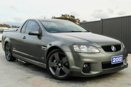 2012 Holden Ute VE II SV6 Thunder Grey 6 Speed Auto Seq Sportshift Utility Craigieburn Hume Area Preview