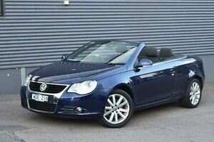 2007 Volkswagen EOS 1F MY08 FSI DSG Blue 6 Speed Sports Automatic Dual Clutch Convertible Berwick Casey Area Preview
