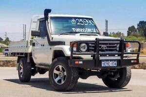 2002 TOYOTA LANDCRUISER HZJ79R 5SPEED MANUAL TRAYBACK Kenwick Gosnells Area Preview