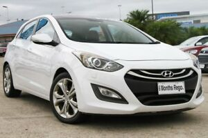2013 Hyundai i30 GD Premium White 6 Speed Sports Automatic Hatchback