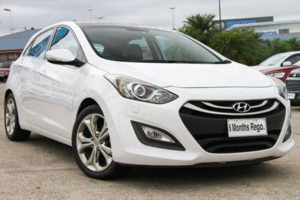 2013 Hyundai i30 GD Premium White 6 Speed Sports Automatic Hatchback Hillcrest Logan Area Preview