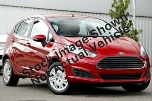 2015 Ford Fiesta WZ MY15 Ambiente PwrShift Candy Red 6 Speed Sports Automatic Dual Clutch Hatchback St Marys Mitcham Area Preview