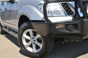 2013 Nissan Navara D40 MY12 ST (4x4) Silver 6 Speed Manual Dual Cab Pick-up Greenacre Bankstown Area Preview