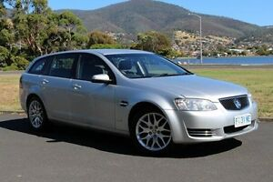 2011 Holden Commodore VE II MY12 Omega Sportwagon Silver 6 Speed Sports Automatic Wagon Invermay Launceston Area Preview