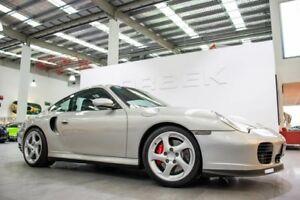 2001 Porsche 911 996 Turbo (4WD) Silver 5 Speed Tiptronic Coupe