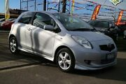 2007 Toyota Yaris NCP91R 06 Upgrade YRX Silver 4 Speed Automatic Hatchback Brooklyn Brimbank Area Preview