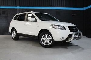 2009 Hyundai Santa Fe CM SLX White Sports Automatic Wagon Knoxfield Knox Area Preview