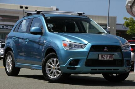 2011 Mitsubishi ASX XA MY12 2WD Kingfisher 6 Speed Constant Variable Wagon Springwood Logan Area Preview