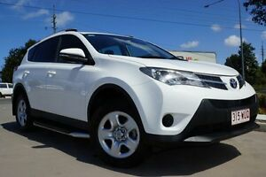 2013 Toyota RAV4 ZSA42R GX 2WD White 7 Speed Constant Variable Wagon Noosaville Noosa Area Preview
