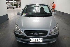 2008 Hyundai Getz TB MY09 S Silver 4 Speed Automatic Hatchback Pennington Charles Sturt Area Preview