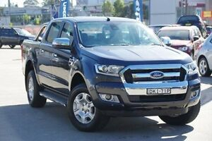 2016 Ford Ranger Grey Sports Automatic Utility Greenacre Bankstown Area Preview