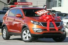 2011 Kia Sportage SL SLi Orange 6 Speed Sports Automatic Wagon Pennant Hills Hornsby Area Preview