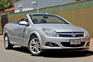 2008 Holden Astra AH MY09 Twin TOP Silver 4 Speed Automatic Convertible Glenelg Holdfast Bay Preview