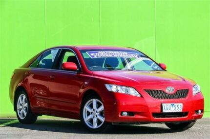 2009 Toyota Camry ACV40R Touring Red 5 Speed Automatic Sedan Ringwood East Maroondah Area Preview