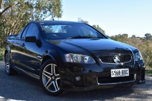 2011 Holden Ute VE II SV6 Black 6 Speed Manual Utility St Marys Mitcham Area Preview