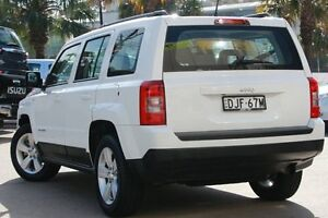 2013 Jeep Patriot MK MY14 Sport 4x2 White 6 Speed Sports Automatic Wagon Dee Why Manly Area Preview