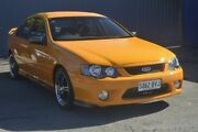 2007 Ford Falcon BF Mk II XR6 Orange 6 Speed Sports Automatic Sedan Blair Athol Port Adelaide Area Preview