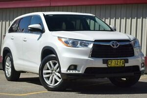 2015 Toyota Kluger GSU55R GX (4x4) White 6 Speed Automatic Wagon Homebush Strathfield Area Preview