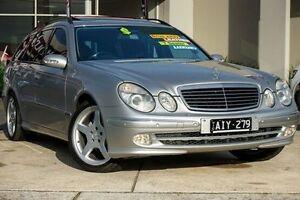 2003 Mercedes-Benz E320 W211 Avantgarde Silver 5 Speed Sports Automatic Wagon Lake Gardens Ballarat City Preview