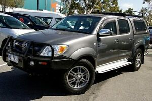 2007 Toyota Hilux GGN25R MY07 SR5 Grey 5 Speed Automatic Utility Mill Park Whittlesea Area Preview
