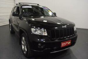 2011 Jeep Grand Cherokee WK Limited (4x4) Black 5 Speed Automatic Wagon