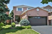 Awesome Bright And Spotless Detached Home With Double Garage.