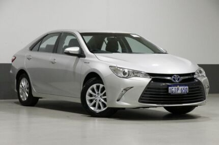 2017 Toyota Camry AVV50R MY16 Altise Hybrid Silver Continuous Variable Sedan Bentley Canning Area Preview