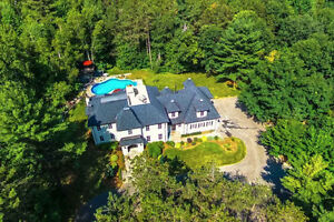 Kingsholme Staley Custom Built Home on 10.8 Acres, Must See.