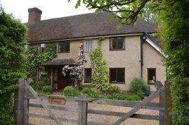 Beautiful, rural 5 bed family home, no upward chain