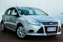 2013 Ford Focus LW MKII Ambiente PwrShift White 6 Speed Sports Automatic Dual Clutch Hatchback Wangara Wanneroo Area Preview
