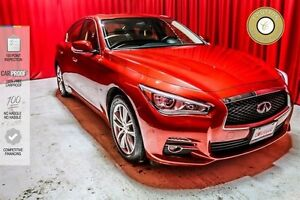 2014 Infiniti Q50 LOW KM! LEATHER! PWR EVERYTHING!