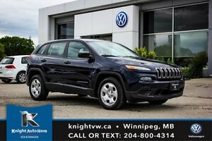2014 Jeep Cherokee Sport w/ Winter Tires And Rims
