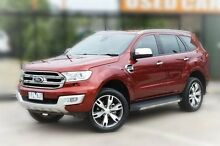 2015 Ford Everest UA Titanium Orange 6 Speed Sports Automatic Wagon Berwick Casey Area Preview